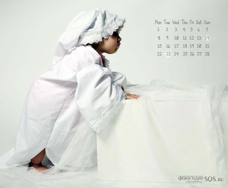 Календари на рабочий стол на февраль 2010, Обои на рабочий стол, Художественная фотосъемка, Фотостудия SQS, Екатеринбург.