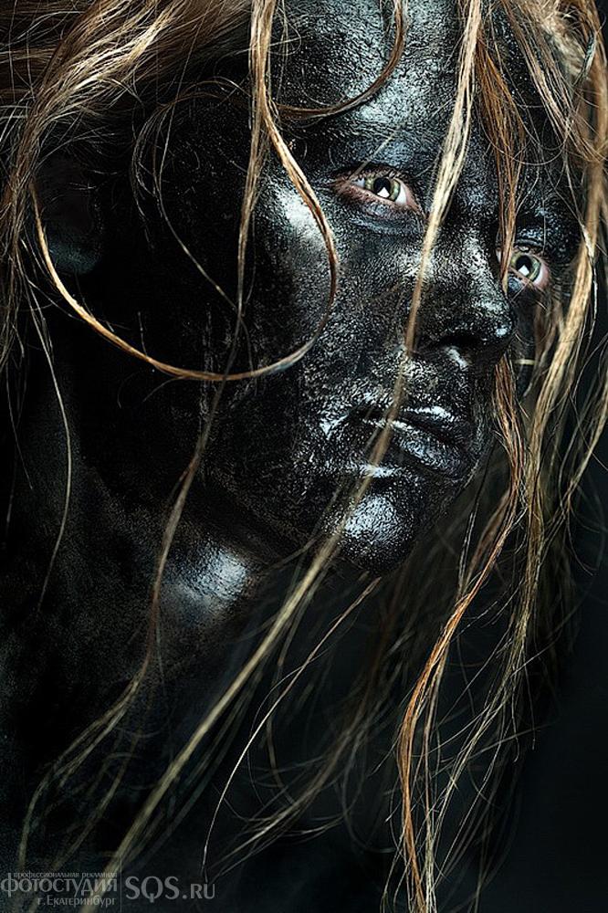 """Фотосессия """"Black"""", Мода и красота, Рекламная фотосъемка, Фотостудия SQS, Екатеринбург."""